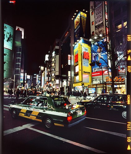 Sebastien Tixier photo 2008 Tokyo la nuit #3