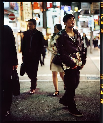 Sebastien Tixier photo 2008 Tokyo at night #6